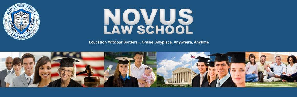 Law School Online >> Novus Law School Education Without Borders Online